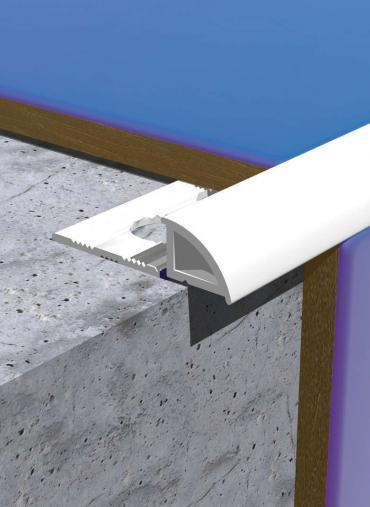 Hvítur 10mm PVC